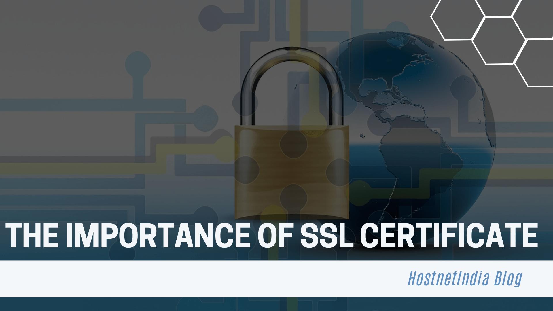 importance of ssl