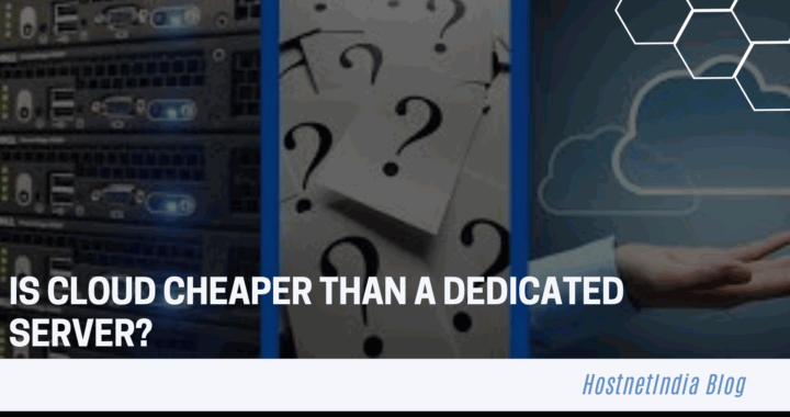 Is Cloud Cheaper Than a Dedicated Server?