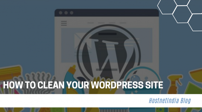 How to clean your WordPress site