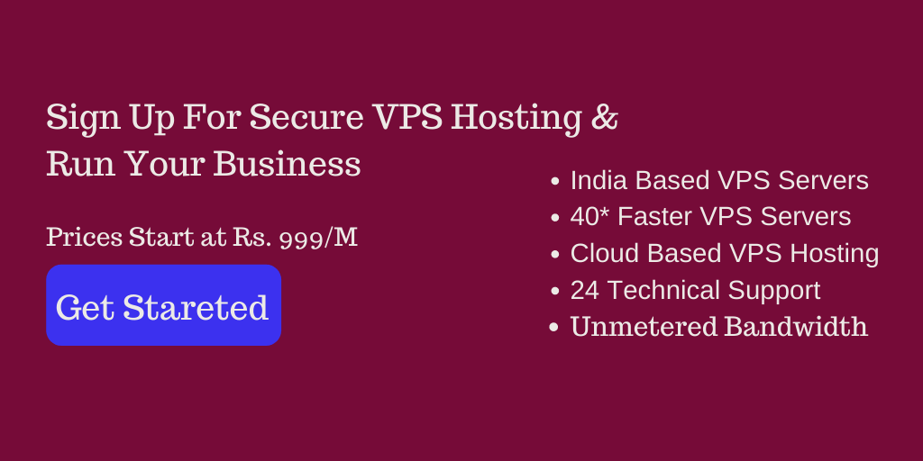 Cheap VPS Hosting India
