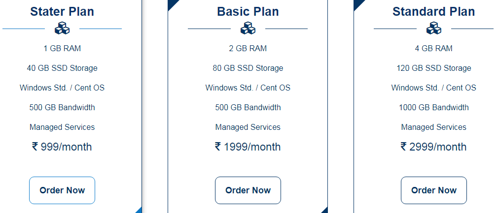 VPS Hosting Plans and Features
