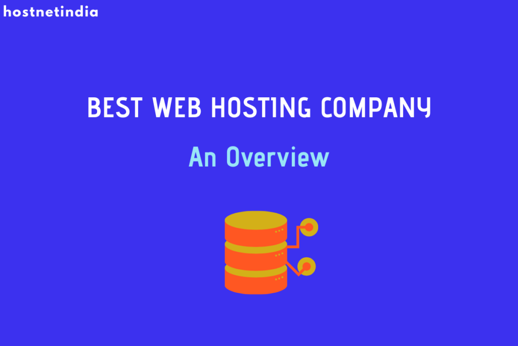 Best Web Hosting Company in India